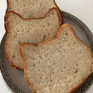 猫型食パン