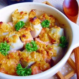 野菜もたっぷり!「鮭の味噌バター」レシピ5選