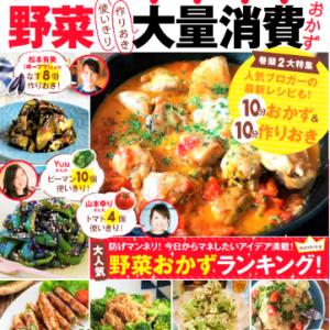 保存版 レシピブログで人気の野菜大量消費おかず 本日発売!