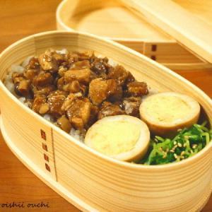 【今日のわっぱ弁当】魯肉飯
