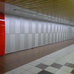 先週の新宿地下通路・その594 「MWZ」。