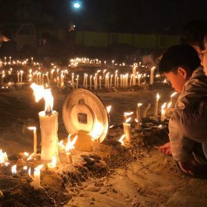 地震と蝋燭とおくりびと