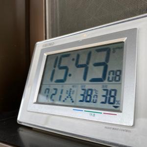 【速報】38度達成!2020年7月21日!!