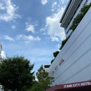 御寺院様のご宿泊は伊丹シティホテルで♪