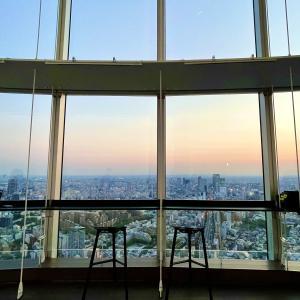 六本木ヒルズの東京シティビューへ