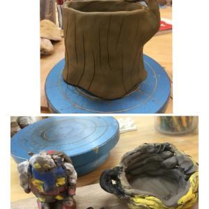 植木鉢とガンダム?