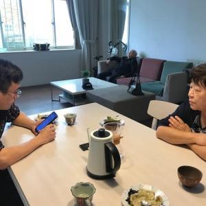 台湾での生活~食後のお喋りタイム