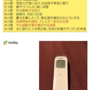 台湾での生活~体温を測る