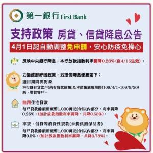 台湾での生活~住宅ローンの金利