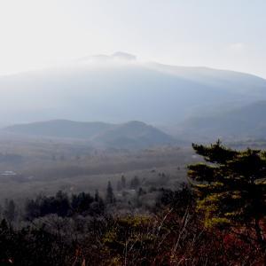 初冬の遠刈田公園遊歩道