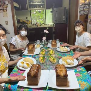 大人気↑圧巻ですッ☆お見事4人の生徒さん最高級の☆ホテル食パン☆