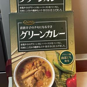 辛党の我が家♡青唐辛子のグリーンカレーを買ってみました♡