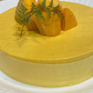 3層☆マスカルポーネチーズクリームでマンゴーケーキ☆
