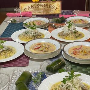 """師匠率いる4人の料理教室は、""""Mー1グランプリ""""レベルの楽しさですわよ〜"""