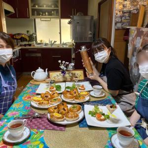 Mさんウエルカム〜♡パンベーシックコース☆4種のパンでスタートですッ‼︎