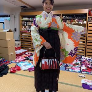 多古町から袴のお客様にご来店頂きました。