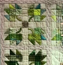 私の針仕事展 Part 3 メイプルリーフパターン