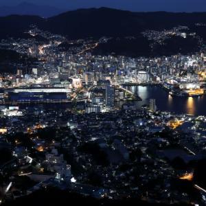 長崎夜景の撮影記