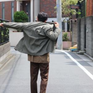 【夏でも快適ジャケットコーデ!】