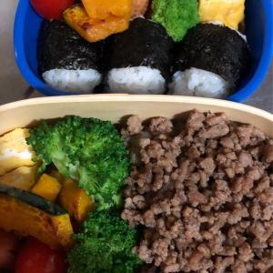 幼稚園とパートのお弁当