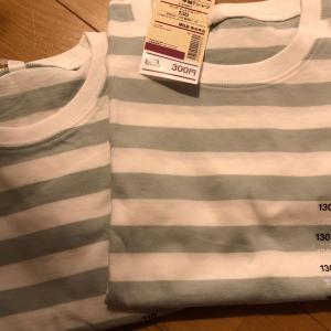 無印セール品のTシャツ