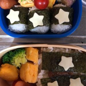 幼稚園のお弁当とパート弁当