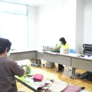♡出張フラワーアレンジメント教室・筑西遊湯館さま♡