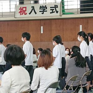ついに迎えた入学式