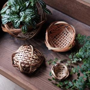 台湾の竹カゴ作り