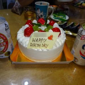 息子の二十歳の誕生日に大雨