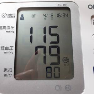 知らない間に高血圧になっていました。その後
