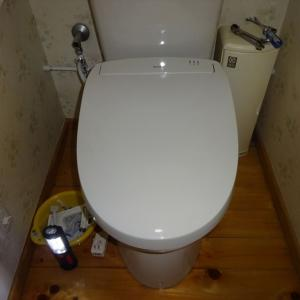 DIY:シャワートイレ交換
