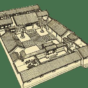 四合院と風水の関係
