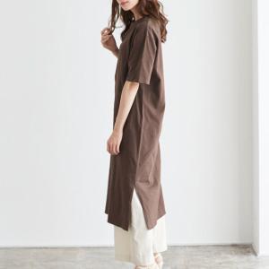 【色とファッション】部屋着に見えないTシャツワンピの大人の着こなし超重要ポイント