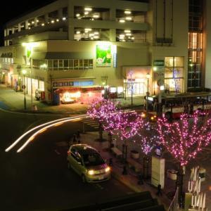 【大河原町】駅前広場にイルミネーション点灯式、先着100名様にペンライトをプレゼント! #大河原