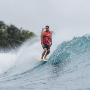 Justin Quintal Claims 2019 WSL World Longboard C