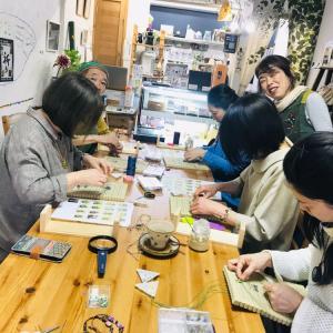 マクラメ編みレッスン@Unicafeこころ塾レポ