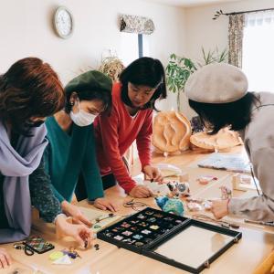 ここ最近のマクラメ編みレッスンレポ