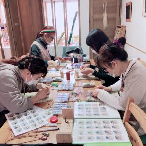 3/14(日)はマクラメレッスン@Unicafeこころ塾