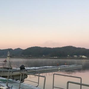 2018/12/19 今後の課題を再確認した高滝湖