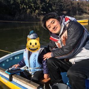 2019/02/20 津久井湖 ワカサギ