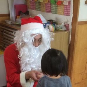 クリスマス サンタさんが来たよ