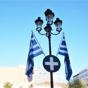 アクロポリスの丘・ギリシャ~2018ヨーロッパの旅