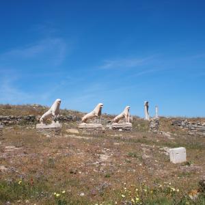 デロス島のライオンの回廊