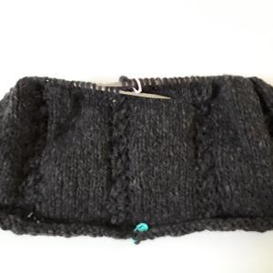 毛糸のスカート編み始め
