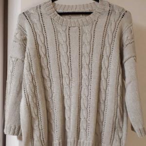 縄編みのプル完成