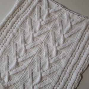 Vネックプル編み始め