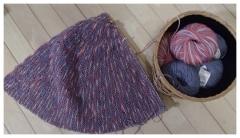 今年も編み物