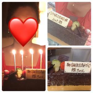 お誕生日ありがとうございました!