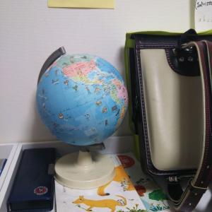 子どもが外国に親しむために!図鑑と地球儀